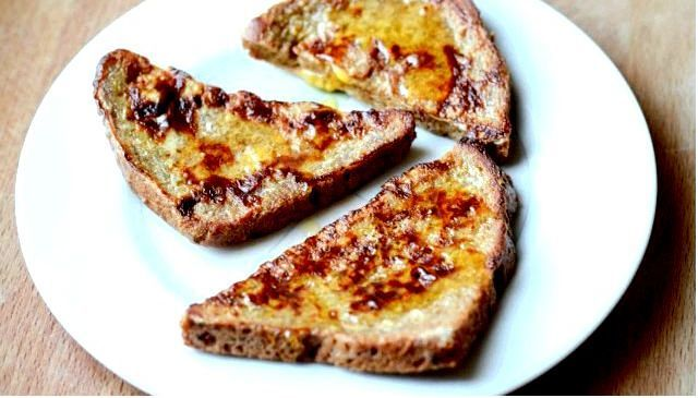 Французские тосты из цельнозернового хлеба