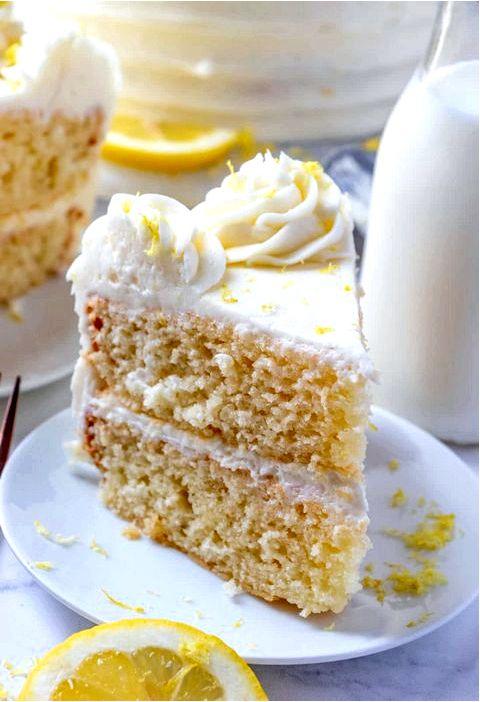Лимонный кекс на день матери