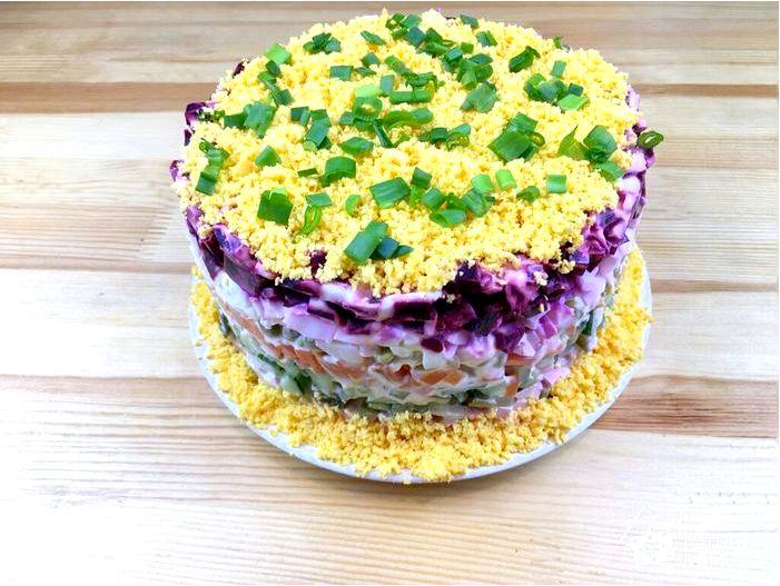 Майонезный торт