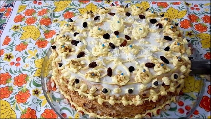 Вегетарианский торт без глютена