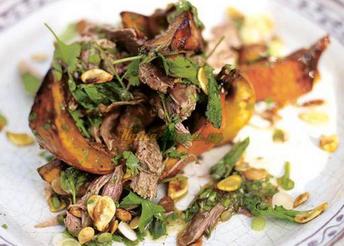 Азиатский салат с уткой
