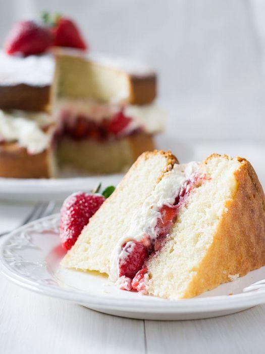 Бисквитный жгут - идеально подходит для торта