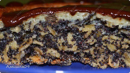 Чизкейк - маковый пирог с сыром