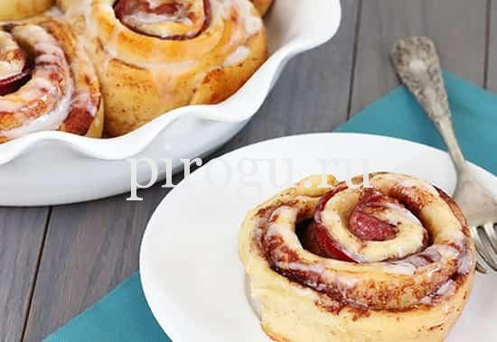 Дрожжевые булочки с ароматом корицы