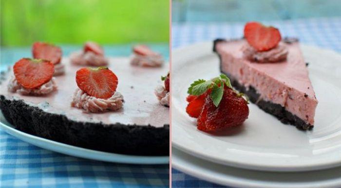 Клубничный тарт с маскарпоне - идеально