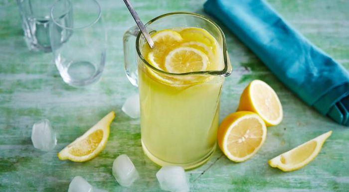 Лимонад из целых лимонов