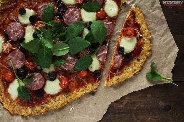 Пицца на основе цветной капусты