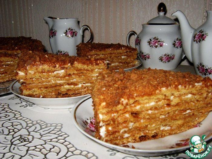 Посольский торт