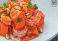 Саат с втбк и малиновым соусом