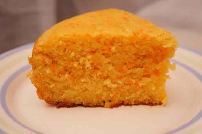 Самый простой малиновый пирог