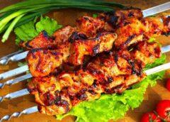 Сатэй8217;куриное сатэй - ореховые шампуры