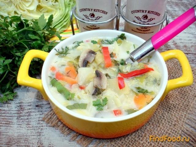 Суп из молодой капусты