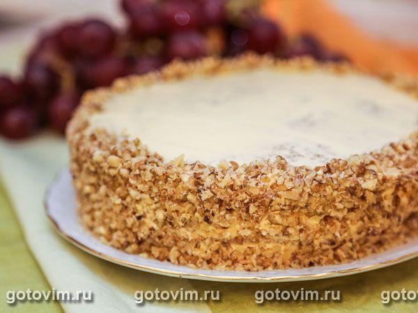 Торт из грецких орехов