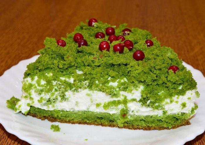 """Торт """"лесной мох"""