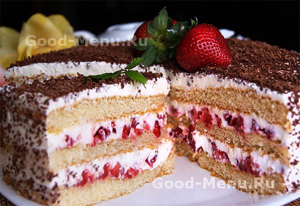 """Торт """"тирамису"""" - самый простой торт для особых случаев"""