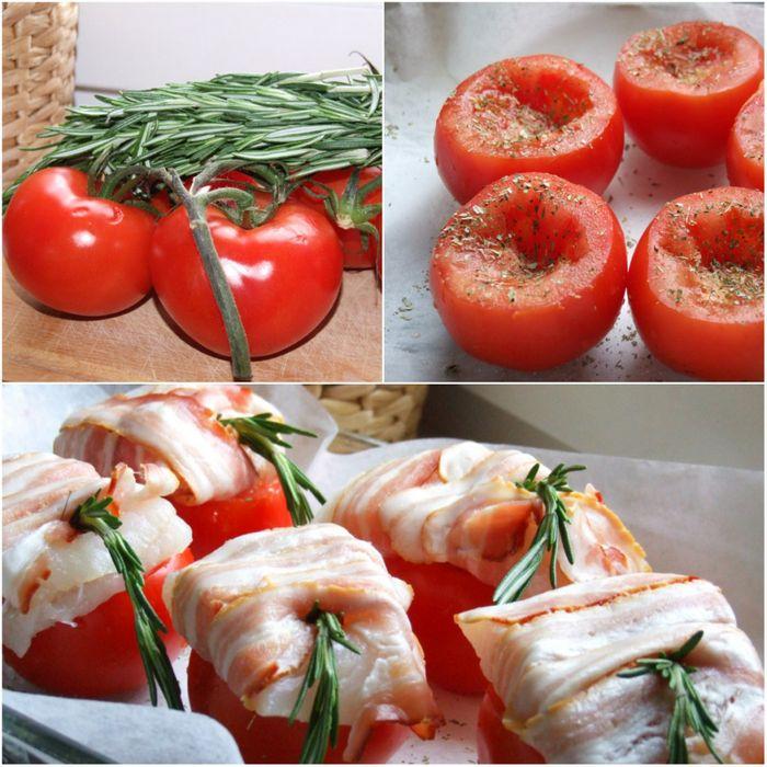Треска в томатах с тапенадой